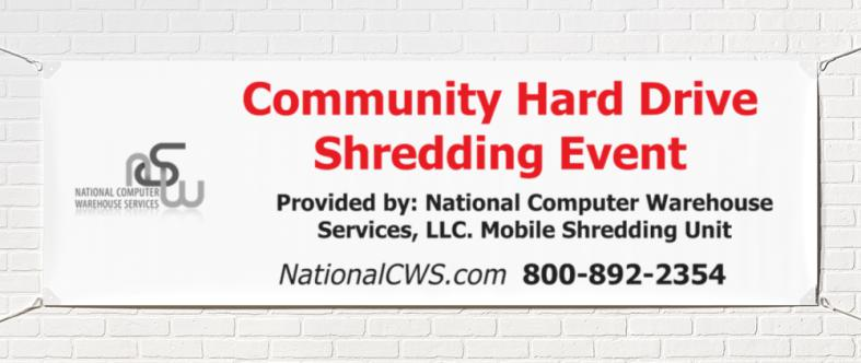 NCWS SHRED EVENT